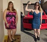 After Losing 70 Pounds, Jess Plateaued For 2 Years, Found Bodybuilding, and Lost 75 More