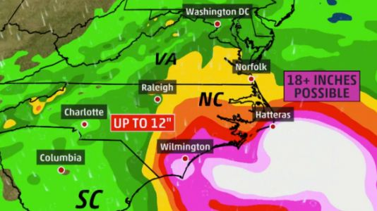 1.5 Million People Evacuate From The Path Of 'Historic' Hurricane Florence