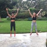 Celeb Trainer Jeanette Jenkins Shares a Fun and Fast-Paced Bodyweight HIIT Workout