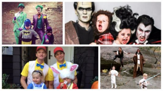 Neil Patrick Harris And His Family Win Halloween - Again