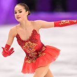 15-Year-Old Figure Skater Alina Zagitova Snags the Gold Medal From Her Teammate and Rival
