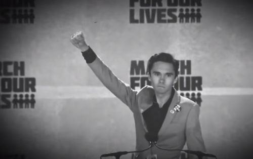 "David Hogg and other leftists think ""coyotes"" refers to PARENTS who smuggle their own children into the United States"