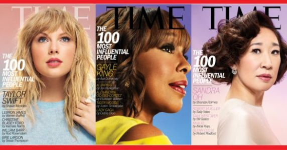 Time Magazine's 'Top 100' List Is Almost Half Women