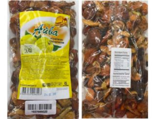 Assorted dried fruit recalled for undeclared sulfites