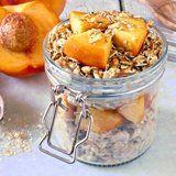 Peaches-and-Cream Overnight Oats Is the Perfect Summer Breakfast