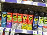 Huge surge in people getting high on BUG SPRAY