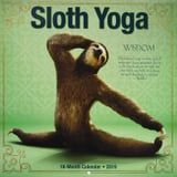 This Adorable Sloth Yoga Calendar Will Instantly Put You in Savasana