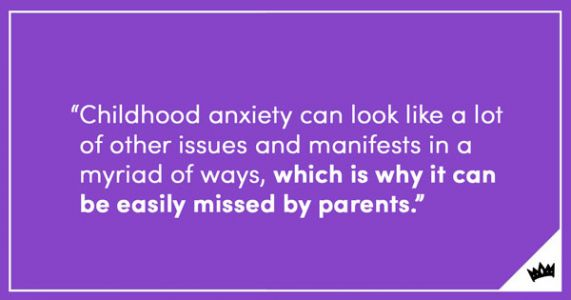 Stomach Aches And Other Hidden Symptoms Of Childhood Anxiety
