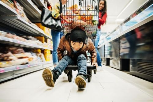 I Fractured My Skull After Falling Out Of A Shopping Cart As A Kid