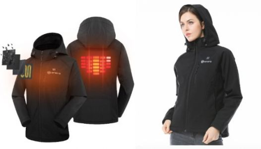 This Jacket Comes With A Built-In Heater To Keep You Extra Cozy