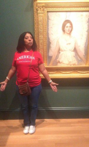 Mom Nails Poses Of Famous Works Of Art - And It's Hilarious