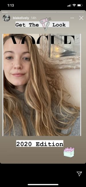Blake Lively Shows Off Her Highly Relatable Quarantine Hair