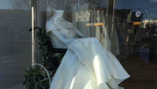 People Are Praising This Bridal Boutique For Displaying Mannequin In A Wheelchair