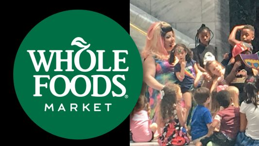 Whole Foods sponsors Drag Queen Story Hour to indoctrinate children with perversion, pedophilia and transgenderism