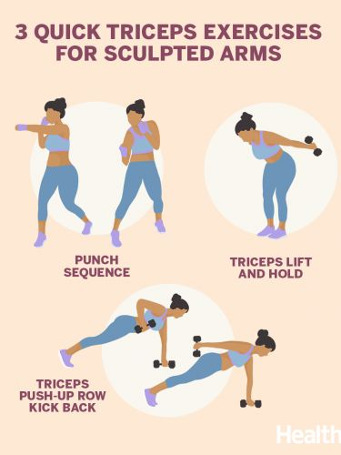3 Quick Triceps Exercises for Sculpted Arms