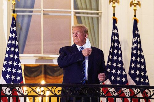 Trump Says He's 'Tired Of COVID,' But COVID-19 Missed That Memo
