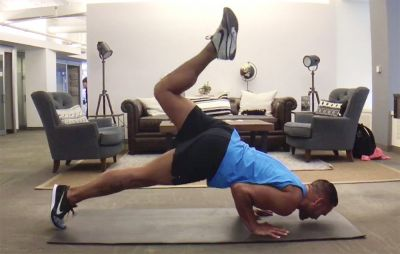 ​Make Like a Scorpion and Do the Pushup That Will Have Your Whole Body Stinging