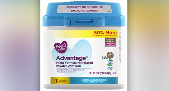 Baby Formula Sold at Walmart Recalled