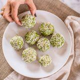 These Keto Matcha Coconut Balls Double as Breakfast AND Dessert