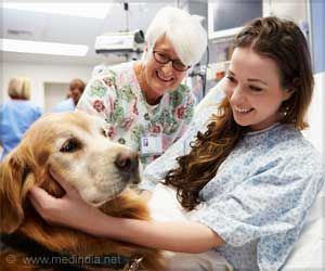 Therapy Dogs can Help Lower Doctors' Stress