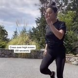 I'm Breaking a Sweat Just Watching Shay Mitchell's 4-Move Bodyweight Workout