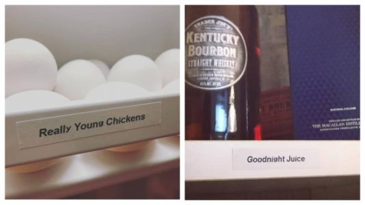 Woman Gets Label Maker And Hilariously Labels The Sh*t Out Of Her Home
