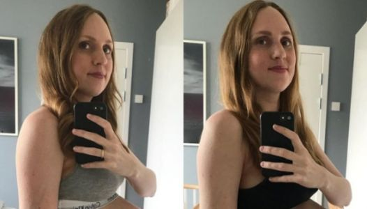 This Triplet Baby Bump Has To Be Seen To Be Believed