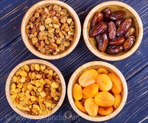 Dried Fruit Consumption Linked With Better Diet Quality and Health Markers