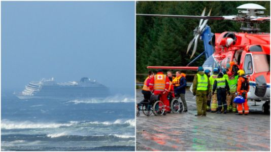 Hundreds Of Passengers Rescued By Helicopter On Terrifying Cruise From Hell