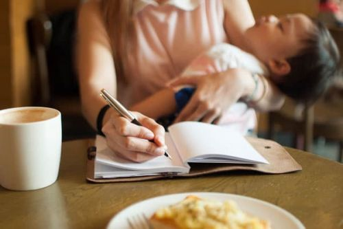 Working Moms Often Feel Like We Don't Even Have Time To Breathe