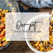 One-Pot Cheesy Mexican Beans