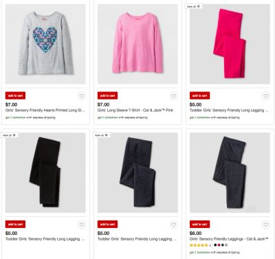 Target's New Sensory-Friendly Clothing Line Is AWESOME
