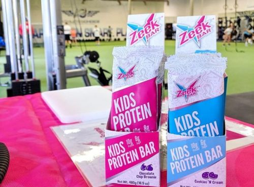 Zeek kids' protein bar founder: 'The first thing moms look for on the label is sugar'