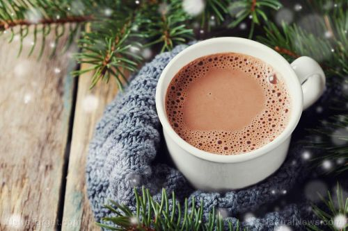 Hot cocoa can stave off the flu
