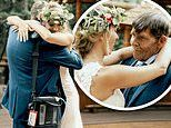 Emotional moment a terminally-ill dad dances with his daughter on her wedding day