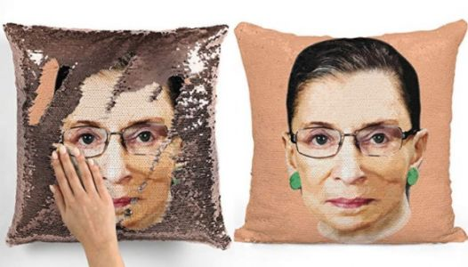 There Are RBG Sequin Pillows And We Need A Dozen Immediately