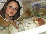 Premature baby to be buried at feet of cancer-stricken mom