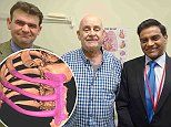 Grandfather is the first in Britain to have a 3D ribcage