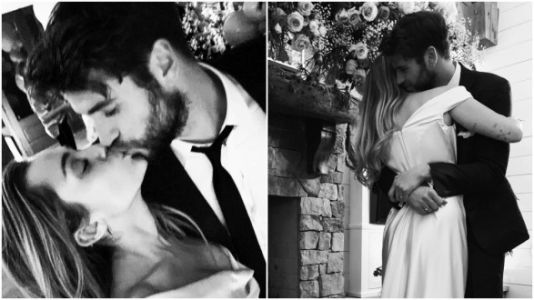 All The Stunning Pics From Miley Cyrus And Liam Hemsworth's Secret Wedding