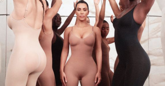 Kim Kardashian Launches Shapewear Line With A Genius Style Detail