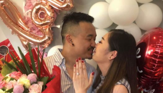 The Story Behind This Viral Proposal Pic Is So Extra And We're Here For It