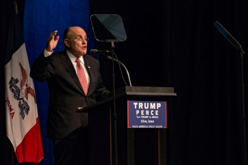 Trump lawyer Rudy Giuliani says Democrat cities conspired to steal election