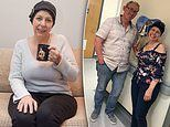 Cancer survivor, 44, felt a lump in her breast after she picked a cup of tea off her bedside table