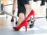 Women are more likely to wear high heels if they are going on a date with an attractive man