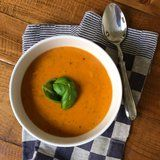 Fill Up on Fiber the Easy Way With This Protein-Rich Chickpea-Tomato Soup