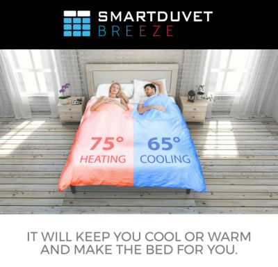 This Smart Duvet Is Here To Save Your Relationship