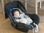 Parents MUST NOT let their babies sleep in car seats as they're at risk of suffocating