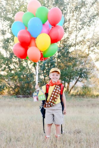 Photographer Mom Perfectly Nails Her Son's 'Up' Themed Birthday Shoot