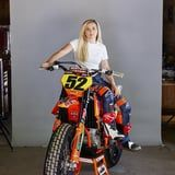 Meet the Motorcycle Racer Who's Beating the Guys and Aiming For a World Championship