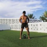 Grab 1 Kettlebell and Try This Trainer's Full-Body Strength Workout